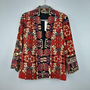 NWT Soft Surroundings Vera Velvet Jacket Size L